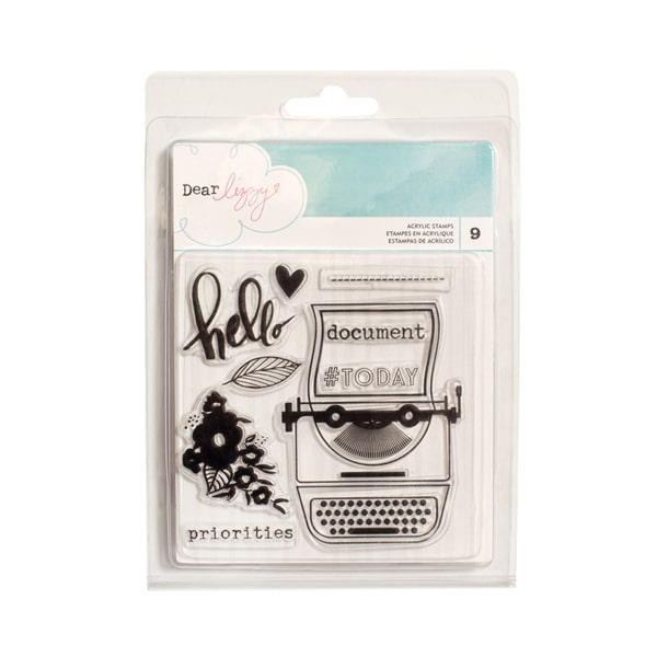 Dear Lizzy Acrylic Stamps