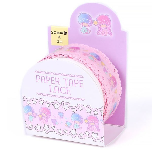 Sanrio Paper Lace Tape Little Twin Stars