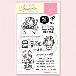 Love Cynthia Clear Stamp - Me Time