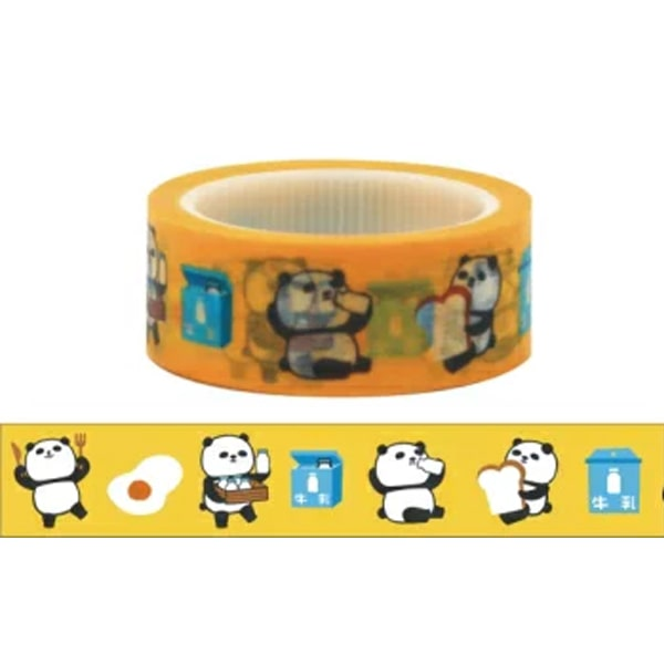 Masking Tape Xie Xie Panda Series - Milk Shop