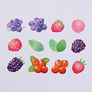 Bande Washi Roll Sticker Mixed Berries