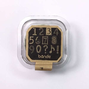 Bande Masking Roll Sticker Petit Number 0-9