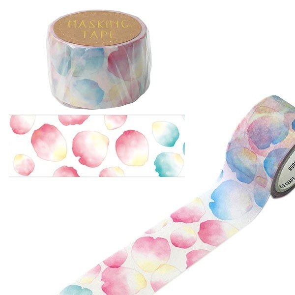 World Craft Masking Tape Petals