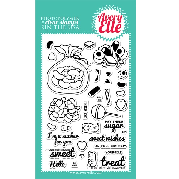 Avery Elle Clear Stamp - Pick 'N' Mix