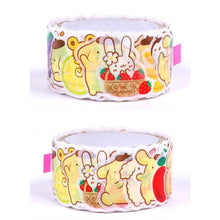 Masking Roll Sticker Pompom Pudding