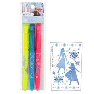 SunStar Frixion 3 color set Frozen II