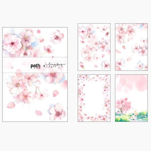Path X Liang Feng Memo Series Cherry Blossoms