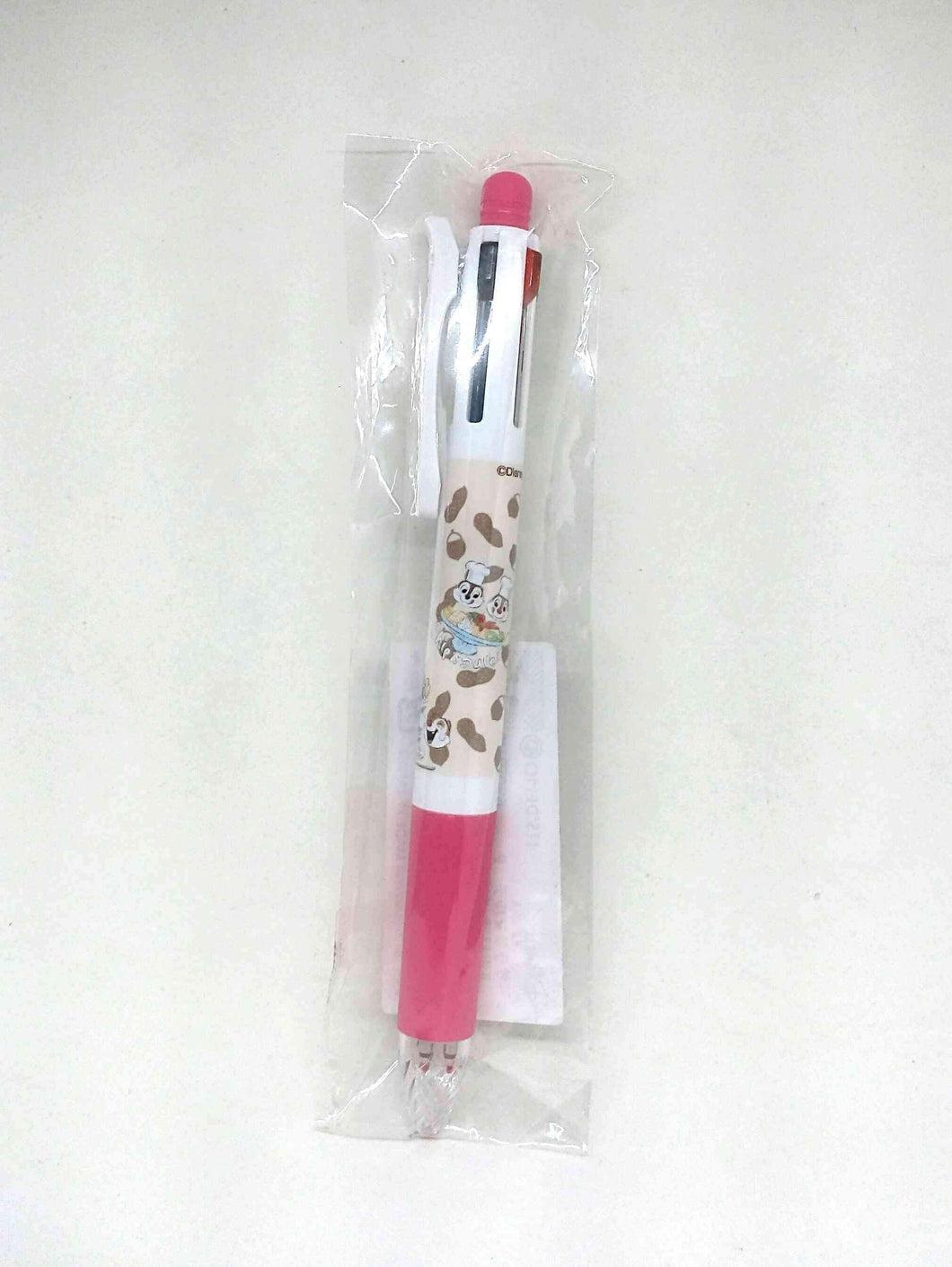 Sarasa Multi Pen Chip And Dale Pink 4+1