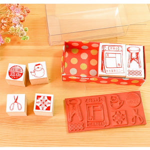 MICIA Scribble Stamp Set - Old Memory