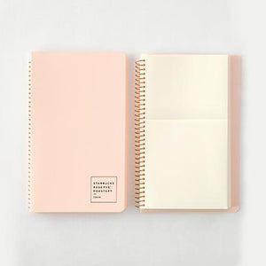 Spiral Ring Notebook Starbucks Pink