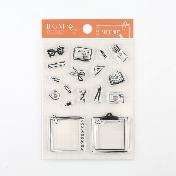 BGM Clear Stamp Stationery