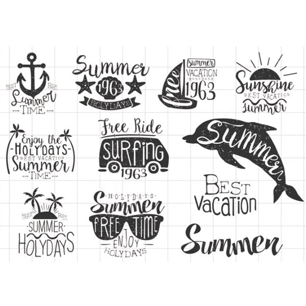 Clear Stamp Moodtape Summer