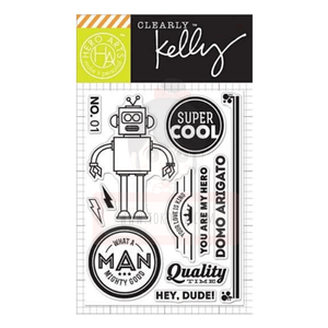 Hero Arts Clear Stamp - Kelly's Super Cool