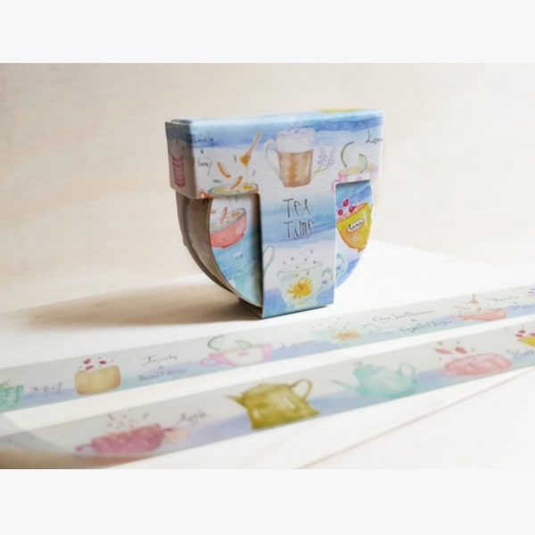 Tool Design Washi Tape - Tea Time