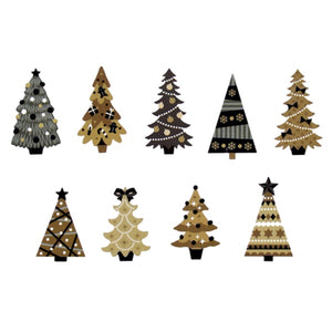 Bande Washi Roll Sticker Christmas Tree 2