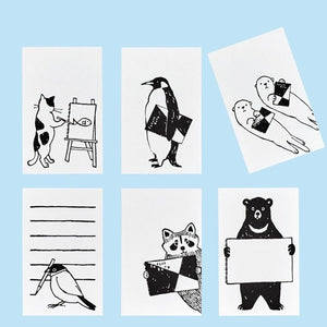 Zuan Life 60th Limited Edition Roll Sticky Note - Animals