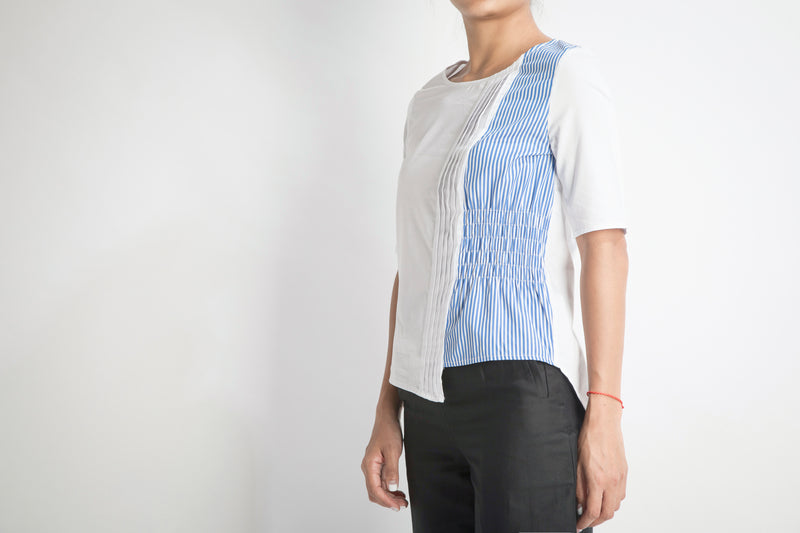 Asymmetric Top | White Blue