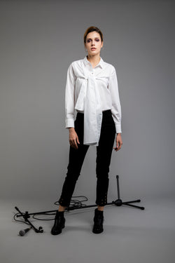 Playful Tie-up long sleeve Shirt