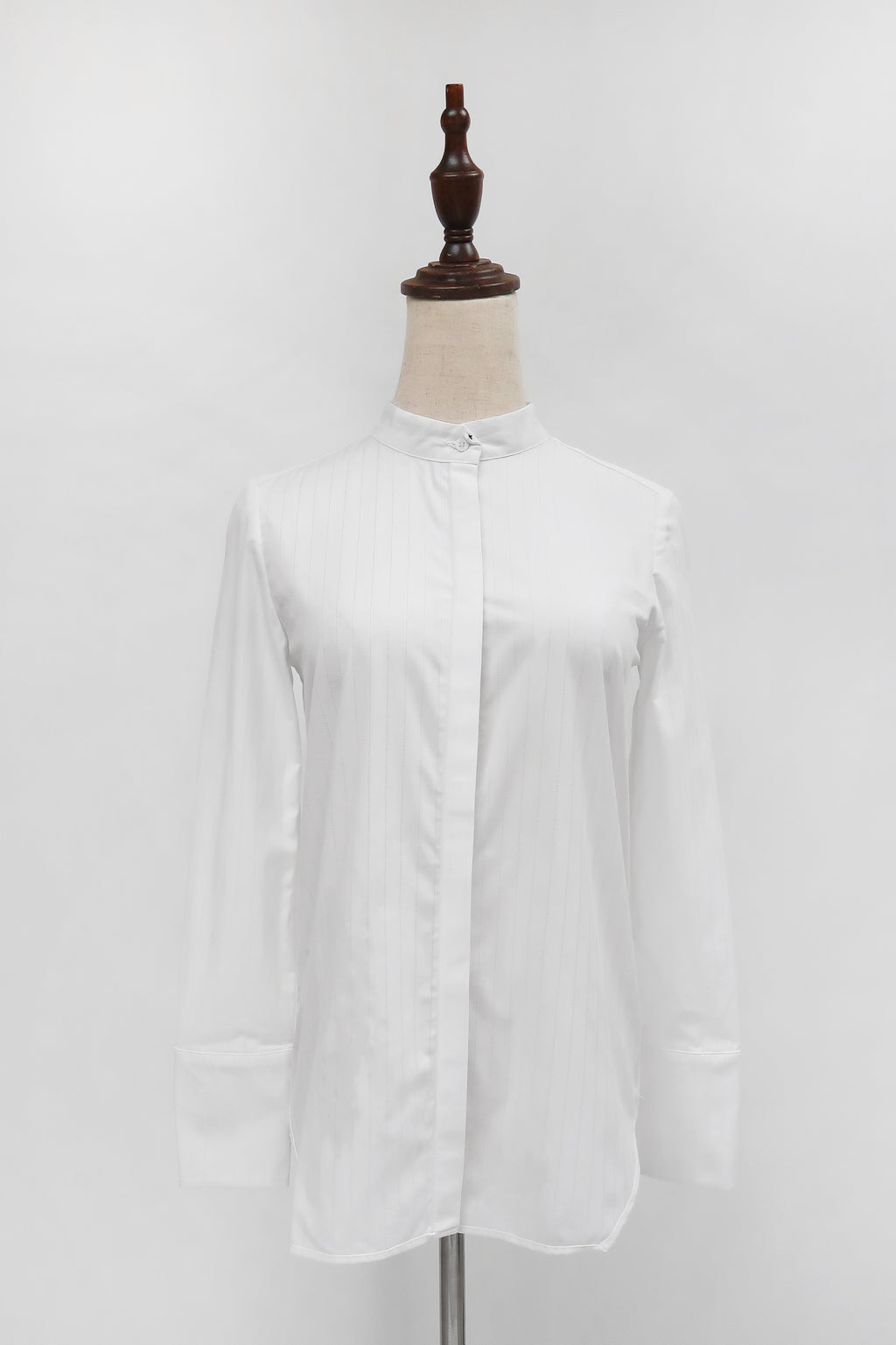 Leslie Shirt - Patterned White fabric