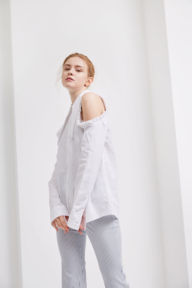 GiGi Shirt | White