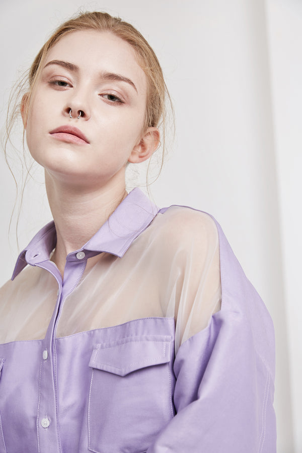 Bella Shirt | Purple