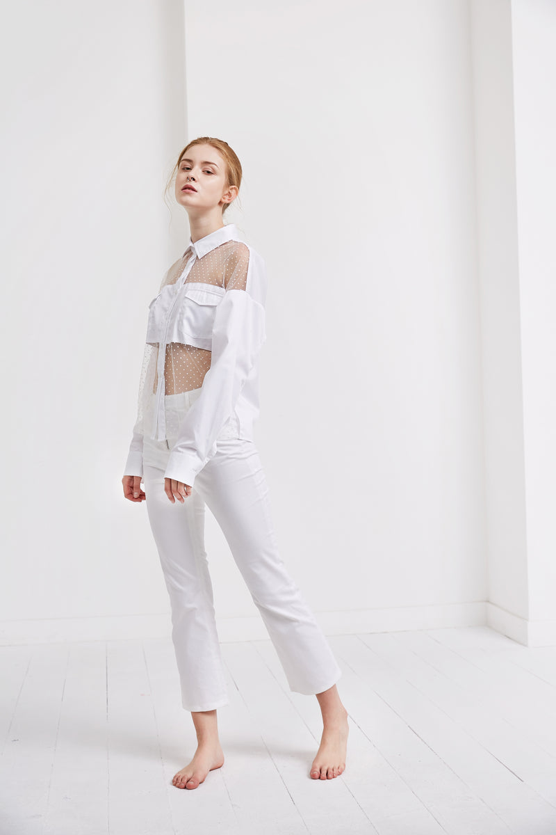 Bella Shirt | White