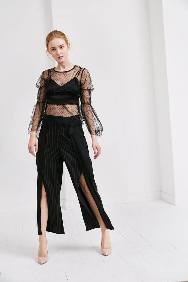 See through Top | Black
