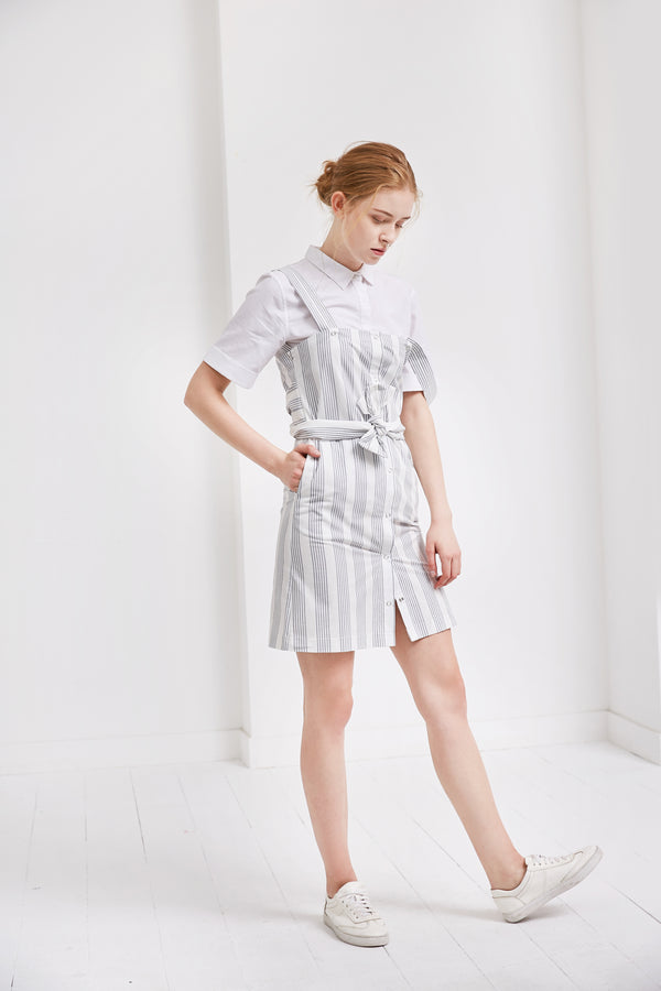 Detachable Shirt Dress