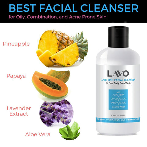 LAVO Clarifying Facial Cleanser