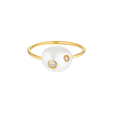 Disco Pearl Ring