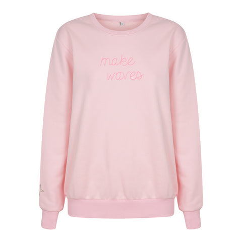 Make Waves Sweatshirt - Candy