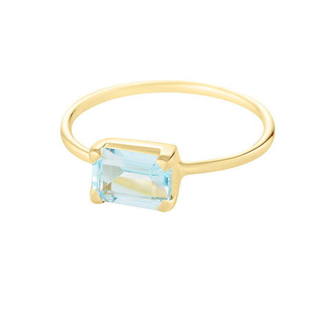 Candy Ring - Blue Topaz