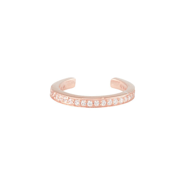Eternity Ear Band - Rose Gold