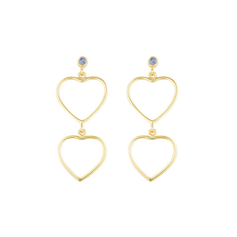 Heartbreaker Earrings - Gold