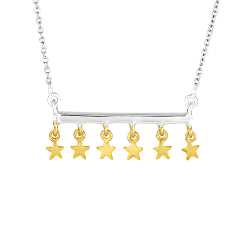 Superstar Necklace- Sterling Silver