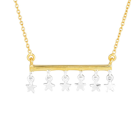 Superstar Necklace- Gold