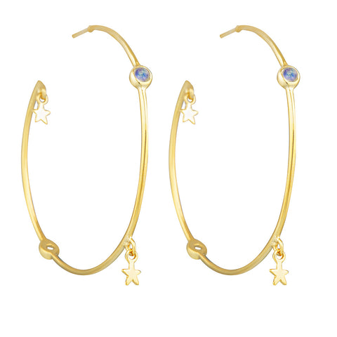 Dreamer Hoop Earrings