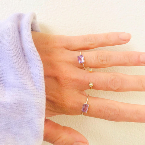 Candy Ring - Amethyst