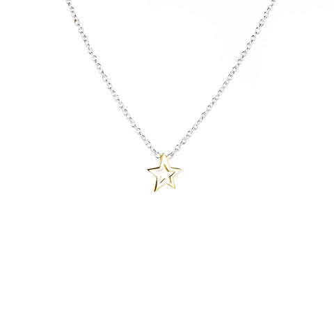 Stargazer Necklace - Silver/Gold