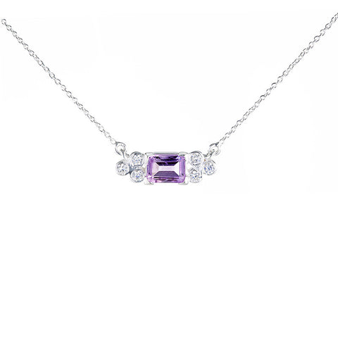 Madison Choker - Amethyst