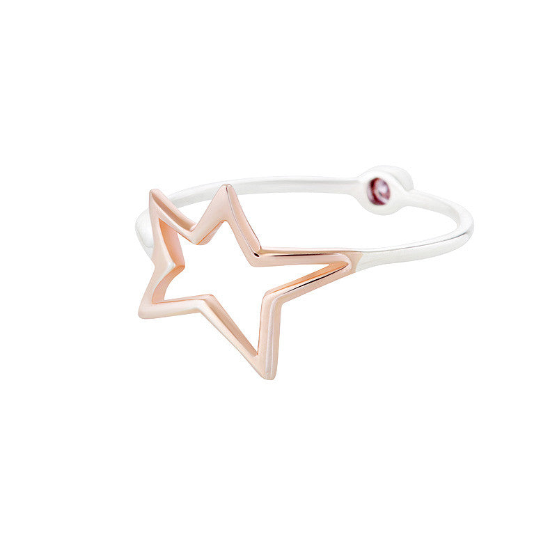 Stellar Ring - Silver/Rose Gold