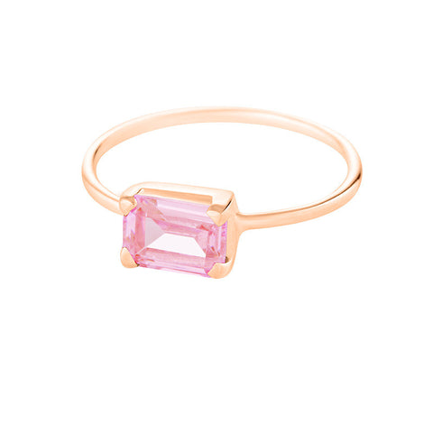 Candy Ring - Pink Topaz