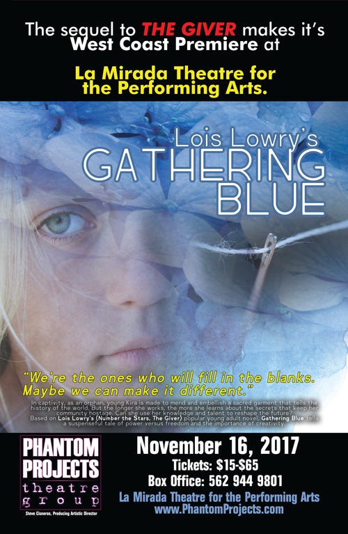 Official Gathering Blue Autographed Poster
