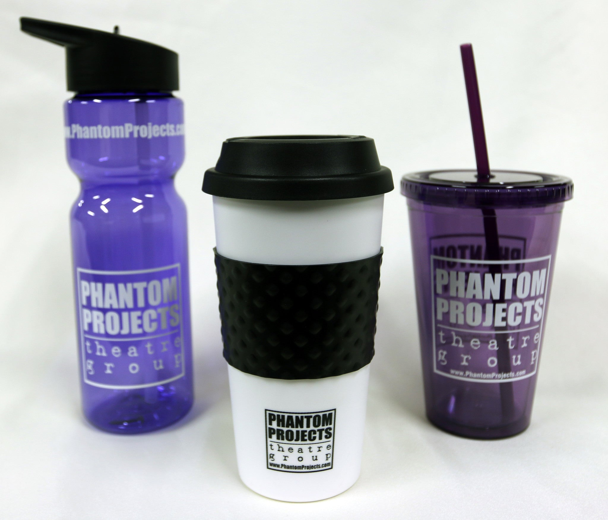 Drinking Tumbler, Water Bottle or Coffee Coffee Traveler Cup - The Phantom Way
