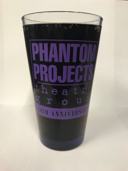 Phantom Projects 20th Anniversary Pint Glass - 16oz.