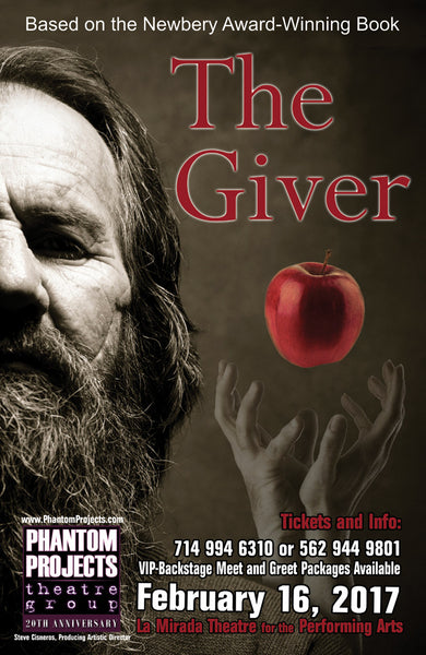 Official Production Poster for THE GIVER
