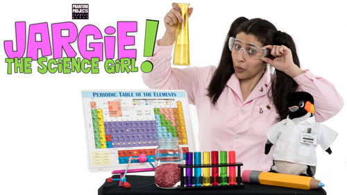 10AM Field Trip: Jargie the Science Girl!