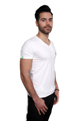 Body Fit Logo Deep V-Neck