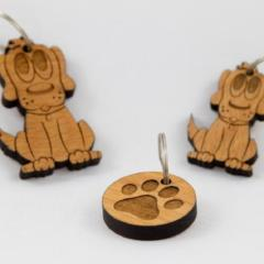 Wooden Keyrings - Option to Personalise