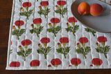 Marigold Hand Block Printed Table Mats
